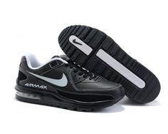 Mens Black White Nike Air Max Ltd 2