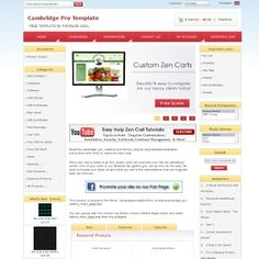 Cambridge Pro Free Zen Cart Template 0 00 Custom Design Ecommerce Web