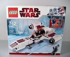 Star Wars Freeco Speeder Lego Set 8085. Includes 177 pieces including the minifigures, Anakin Skywalker and Thi-Sen. New from eBay and listed at under $20