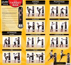 MMA workout poster Best Picture For Boxing Workout female For Your Taste You are looking for something, and it is going to tell you exactly what you are lo Boxing Workout With Bag, Punching Bag Workout, Home Boxing Workout, Heavy Bag Workout, Mma Workout, Kickboxing Workout, At Home Workouts, Kick Boxing, Body Workouts