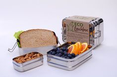 ECOLunchbox 3-in-1 Set - Planet Bambini- This is what I really wanted to get for the boys' lunches at school. These are small, so they will help me remember the appropriate portion sizes. It's so easy to overestimate based on how much an adult eats!
