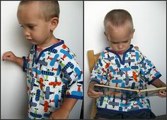 Boys Tunic Tutorial