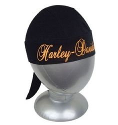 Harley-Davidson® Women's Black Curls Headwrap Cap Hat. HW44664 Harley-Davidson. $20.95