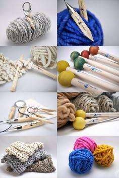 Loopy Mango Big Loop Yarn and giant knitting needles for super chunky knits on loopymango.com