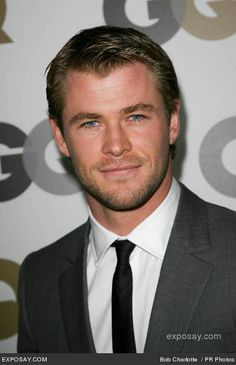 It's ridiculous how gorgeous he is! http://www.exposay.com/celebrity-photos/chris-hemsworth-gq-2010-men-year-party-sfgoZj.jpg