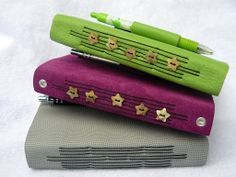 Image result for recycled hand bound books