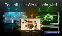 Elektronik: Günstig Fernseher im Online Shop vom Quelle Versand kaufen Shops, Television Set, Gift Cards, Tents, Retail, Retail Stores