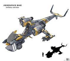 ArtStation - Space Bikes , Sheng Lam