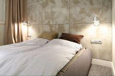 Pomysł na ścianę w sypialni: efekt betonu  - zdjęcie numer 7