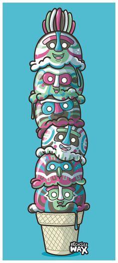 Totem by ~recycledwax on deviantART