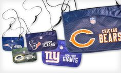 Groupon - $14 for an NFL Cross-Body Jersey Mini Purse ($20 List Price). All 32 Teams Available. Free Shipping. in Online Deal. Groupon deal price: $14.00