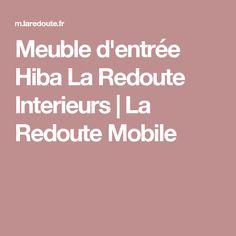Meuble d'entrée Hiba La Redoute Interieurs | La Redoute Mobile