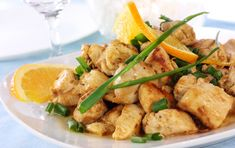 Chicken A L'Orange and Brown Rice Is A Great Healthy Dinner Idea