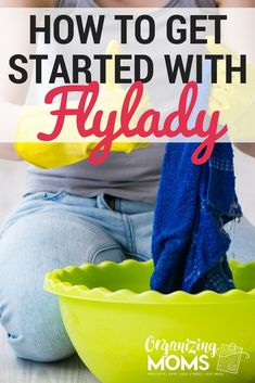 How to Get Started With FlyLady you've been looking for an easy cleaning routine online, there's a good chance you've run across FlyLady. FlyLady (her real name is Marla Cilley) has been teaching. Deep Cleaning Tips, House Cleaning Tips, Cleaning Solutions, Spring Cleaning, Cleaning Hacks, Cleaning Schedules, Cleaning Routines, Cleaning Checklist, Fly Lady Cleaning