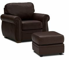 So Many Leather Chairs And Ottomans To Choose From Seat Foam Furniture