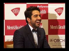 Ayushman Khurana's funny answer to a stupid question. Bollywood Actors, My Crush, Stupid, Crushes, Hero, Photoshoot, This Or That Questions, My Favorite Things, Funny