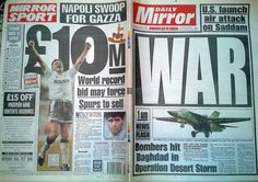 Daily Mirror, 17/01/91