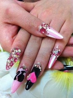 ♥Cute Nail Design♥ » Pictures of Pretty Nail Designs » 3D Designs