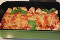 Mumsfillibaba!!!: Enchiladas med fajitakryddad kyckling Tex Mex, Lasagna, Quiche, Tapas, Cauliflower, Food And Drink, Vegetables, Breakfast, Ethnic Recipes
