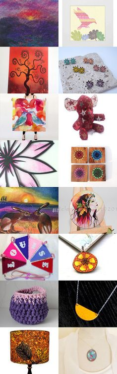 Sunset by Sarah on Etsy--Pinned+with+TreasuryPin.com