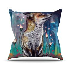 There is A Light Throw Pillow