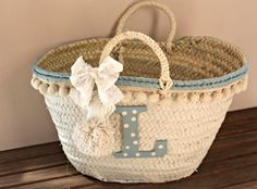 Cesta Lucia1 Art Bag, Boho Bags, Basket Bag, Crochet Shoes, Basket Decoration, Ibiza, Knitted Bags, Hobbies And Crafts, Handmade Bags