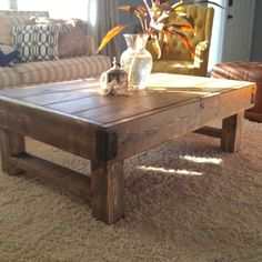 Check out this project on RYOBI Nation - My wife and I have had an empty space in our living room for some time. We bounced in between leaving it empty or buying an industrial rustic coffee table to fit our living room. Against my will, my wife decided that I would build her a table instead. We got inspiration from a number of DIY sites like Ana White and Shanty-2-chic. We borrowed ideas from a number different plans and created our own unique industrial rustic coffee table. Today my wife…