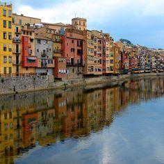 Girona reflections | Girona, Catalonia, Spain