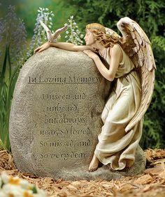 Memory Angel Garden Statue