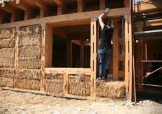 10 Straw-bale homes – an eco-friendly alternative to explore - Rome's First Straw Bale House.