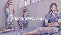 Sasha Pivovarova fronts Balenciaga Spring/Summer 2015 campaign shot by Steven Klein