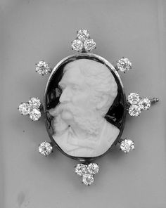 Cameo ca 1860 onyx,gold,diamonds Metropolitan                                                                      Video/Audio                        (1)                      ...