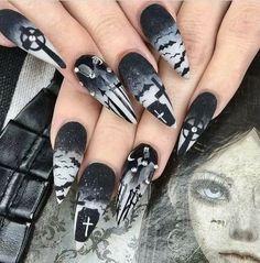Grave stone nails