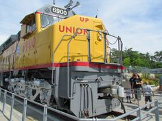 Centennial No. 6900 - the largest and most powerful diesel-electric locomotive in the world. Check it out at Kenefick Park!