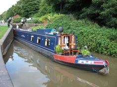 The narrowboat 'Trinity'