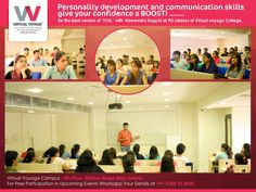 At VV we always believe in holistic development and so, we keep organising many workshop for them. This time students attend Heerendra Bagchi sir's PD & language class. If you want that the world follows you....Join Virtual Voyage College today.... And learn the key to great personality & excellent communication skills.