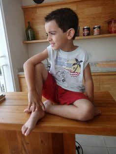 Looks para Meninos Elian – Coleção Tropical - Detalhes que fazem toda a diferença