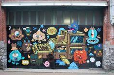 Buë with Resto Graffiti #streetart #graffiti #spraycanart