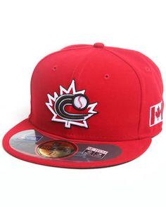 new arrival b03b4 f7537 New Era   Canada World Baseball Classic 5950 Fitted Hat. Get it at DrJays.