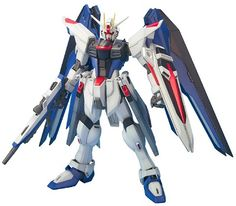 The Freedom Gundam is the most popular design from Gundam SEED, so it is only natural that a fantastic Master Grade kit would come our way!