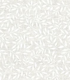 Quilter's Showcase Cotton Fabric 44''-Vine on White