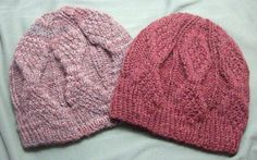 Mock Aran Knitted Mens Hat - says its for men but it would probably work for a woman too.