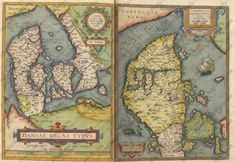 Old Maps, Historical Maps, Denmark, Vintage World Maps, Miniatures, Roots, Projects, Germany, Peace