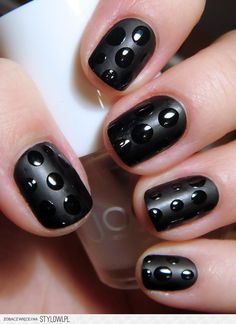 Easy manicure - drops of nail polish (Find us on: www.facebook.com/NeoNailPL)