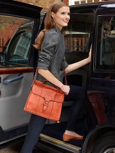 Large shoulder handbags are a great fall statement!  #Macy's