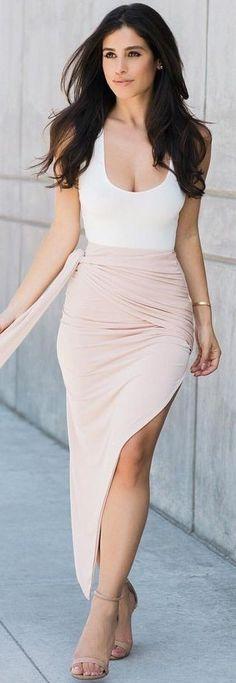 #summer #beach #outfits | White + Blush