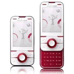 #Sony Ericsson Yari U100 Cranberry White Color Unlocked Cell Phone GSM Mobile International Version Sim Free    Like, Share, Pin! Thanks :)