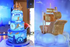 Let's Fly to Neverland! | Peter Pan birthday cake | Peter Pan birthday party | http://babyandbreakfast.ph/2016/10/08/lets-fly-to-neverland/ | Photo: Cradles