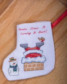 Hey, I found this really awesome Etsy listing at https://www.etsy.com/listing/210912247/cross-stitch-stocking-santa-claus-is