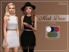 Robe fille sims 4